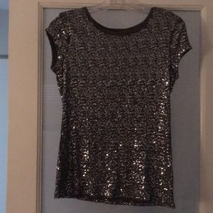 Sequin Silver/Gray top